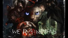 An R-rated comedy/horror/fantasy-film. With animals. Played by animatronic puppets!