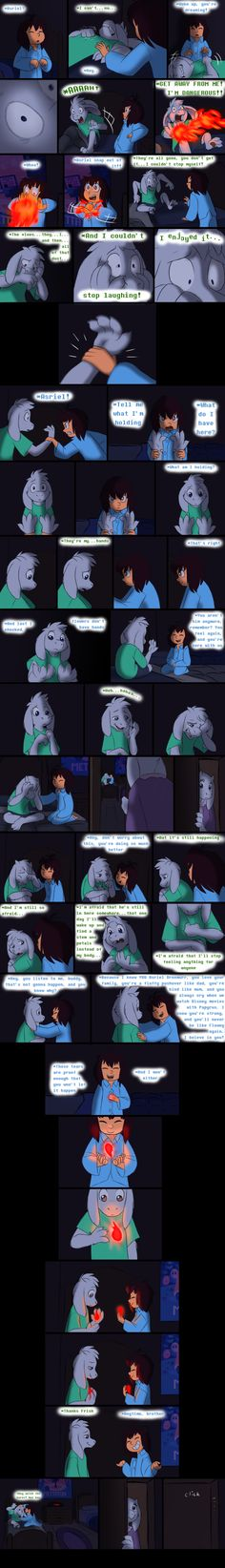 so that's a bit of a big reveal.DETERMINATION is a funny thing Ok, so I best give a briefing on this part before people scream at me how this shouldn'. Endertale - Page 16 Undertale Comic, Undertale Memes, Undertale Ships, My Favorite Part, My Favorite Things, Pokemon, Toby Fox, Underswap, Comic Book
