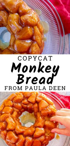 Copycat Paula Deen Monkey Bread LOVE this copycat recipe! This Paula Deen's Monkey Bread recipe! This Monkey Bread recipe is easy and my favorite dessert recipe! Easy monkey bread recipe inspired by Paula Deen's! Fudge Recipes, Copycat Recipes, Bread Recipes, Dessert Recipes, Cooking Recipes, Dessert Bread, Recipes Dinner, Party Desserts, Holiday Recipes