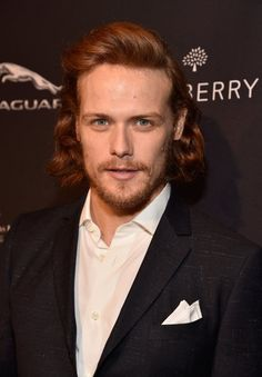 Pin for Later: Tee-Party?! Klingt öde, ist es aber nicht Sam Heughan