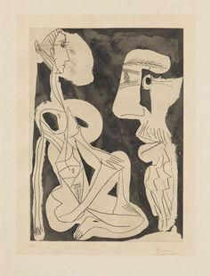 Pablo Picasso, Le Modèle 1965