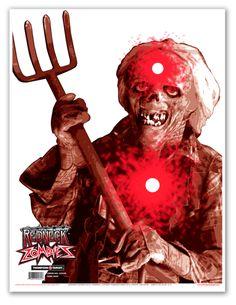 "Fork Man 19""X25"" Zombie Targets (5 Pack) | Armor Tech Defense Ltd."