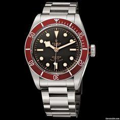 Tudor Black Bay 2012 Steel $3,476 #Tudor #watch #watches #chronograph New Tudor Black Bay 2012 on a Steel Strap