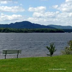 A windy day in Jackman makes a great blueberry picking day! Photo of Big Wood Pond and Sally Mountain in Jackman, Maine taken from Arnold Pomerleau Park.
