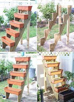 Cute vertical garden idea