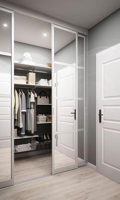 Hall and bathroom on Behance Wardrobe Room, Wardrobe Design Bedroom, Closet Bedroom, Home Decor Bedroom, Bedroom Ideas, Walk In Closet Design, Closet Designs, Home Room Design, Home Interior Design