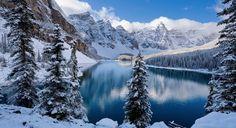 Breathtaking Winter scene #winterskin #snow #winterfun