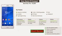Sony Mobile Phones, Mobile Phone Price, Latest Phones, Sony Xperia Z3, Latest Mobile, Mobiles, Quad, Compact, Mobile Phones