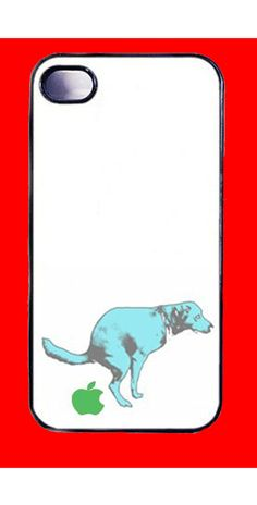 dog+and+apple++iphone+iPhone+4+case+iPhone+by+TOPQUALITYHANDMADEA,+$8.99