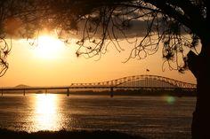 Columbia River Sunset - tri cities Washington
