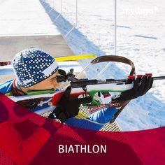 Biathlon - Beim mydays Biathlon-Workshop lernst Du alles Wissenswerte rund um die Olympiadisziplin und dann geht's ab auf die Langlaufskier!  Eine spannende Herausforderung für jeden Wintersportfan.