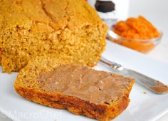 This gluten free pumpkin bread is not only healthy and packed full of nutrients, but it is also moist and delicious as well! Gluten Free Pumpkin Bread, Healthy Pumpkin Bread, Peanut Butter Bread, Healthy Dessert Recipes, Desserts, Banana Bread, Sweet Tooth, Fall, Tailgate Desserts