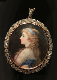 Miniature of Georgiana, Duchess of devonshire, London, 1812 by Kotomicreations, via Flickr