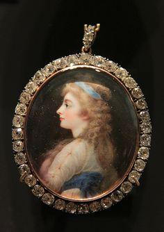 Miniature of Georgiana, Duchess of devonshire, London, 1812 by Kotomicreations, via Flickr