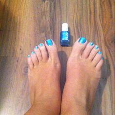Essie beach bum blu! Love it