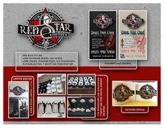 Red Star TattooLogo Branding Design and Prints.Logo design, Business card, cap embroidery, Cap Sublimation, t-shirt and tees printing Logo Branding, Branding Design, Logo Design, Logos, Star Tattoos, New Work, Business Cards, Printing, Behance