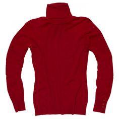 dolcevita rosso tricot