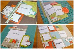 SCRAPBOOK GENERATION: New Debbie Sanders layout kits