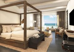 Book a vacation package at UNICO Hotel Riviera Maya with Air Canada Vacations. Riviera Maya, Best Duvet Covers, Natural Bedding, Hotel Branding, Vacation Deals, Dream Vacations, Hotels And Resorts, Luxury Hotels, Beach Hotels