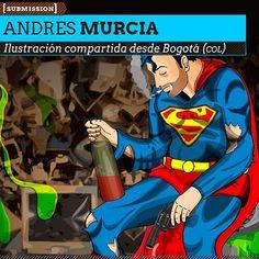 Ilustración. Decadencia de ANDRÉS MURCIA  Ilustración compartida desde Bogotá (COLOMBIA).