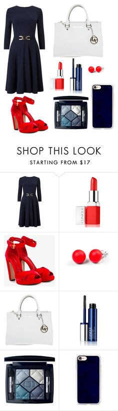 """""""Untitled #121"""" by rozlynjanine ❤ liked on Polyvore featuring Clinique, Alexander McQueen, Hring eftir hring, Michael Kors, Christian Dior and Casetify"""