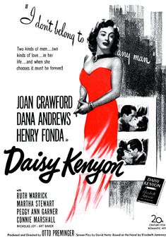 Otto Preminger's Daisy Kenyon is an unsung beauty from Hollywood's golden age, a remarkably good and intelligent movie that's all the more gratifying because it could. Description from laramua.jimdo.com. I searched for this on bing.com/images
