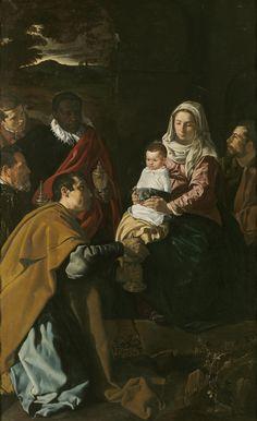 La Adoración de los Reyes, de Velázquez