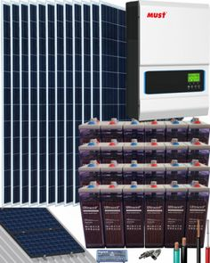 Kits Solares Vivienda Permanente | Comprar Kits Solares Vivienda Permanente al Mejor Precio Kit Solar, Solar Projects, Shopping, Water Bombs, Solar Panels, Solar Energy, Get Well Soon