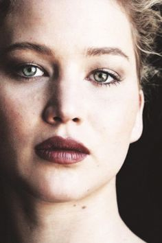 Jennifer Lawrence. She's amazing.