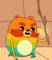 """""""Impossibear""""gas power stick it never runout of gas!"""