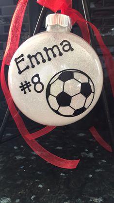 Soccer ornament $10