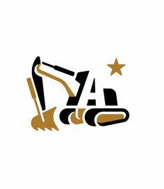 Logo for Allen Excavating by Gardner Design