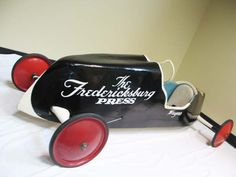 Soap Box Derby Car, 1958 `Fredericksburg Press`. Soap Box Derby Cars, Soap Box Cars, Soap Boxes, Kids Ride On, Pinewood Derby, Pedal Cars, Concept Cars, Bing Images, Shopping
