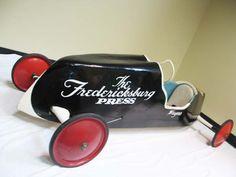 Soap Box Derby Car, 1958 `Fredericksburg Press`.
