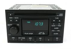 1998-1999 Nissan Altima OEM Receiver AM FM Compact Disc Part PN2218I Face CY516