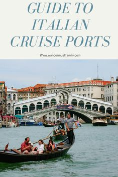 Guide to Italian cruise ports, everything you need to know about cruising around Italy Cruise Excursions, Cruise Port, Best Honeymoon Destinations, Travel Destinations, Travel Tips, Montego Bay Resorts, Cruise Italy, European Honeymoons, How To Book A Cruise