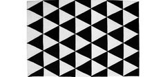 black and white triangle carpet at DuckDuckGo Black And White Carpet, Triangle, Quilts, Blanket, Rugs, Home Decor, Farmhouse Rugs, Decoration Home, Room Decor