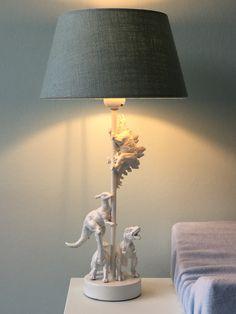 Diy project; dino-lamp voor de babykamer
