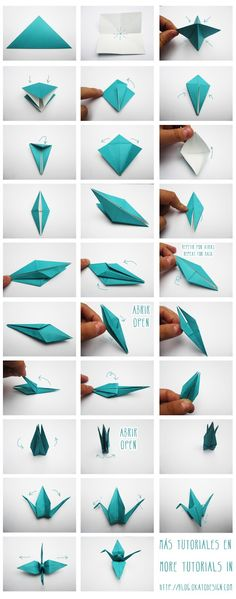DIY & Crafts: Origami Kranich