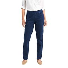 $18.99 - $22.36 Chic Classic Collection Womens Easy-Fit Elastic-Waist Pant 80% Cotton, 19% Polyester, 1% Spandex  Imported  Pull On closure  Machine Wash  Pull-on skinny jean in stretch denim with flat elastic waistband  Back welt pockets  Also available in petite sizes... #womanfashion,#womanfashions,#woman,#fashionhub, #fashionlover, #fashionlife, #fashion,#oufitideas,#outfit Petite Leggings, Pull On Jeans, Elastic Waist Pants, Classic Collection, The Chic, Fashion Pants, Stretch Denim, Black Denim, Style Inspiration