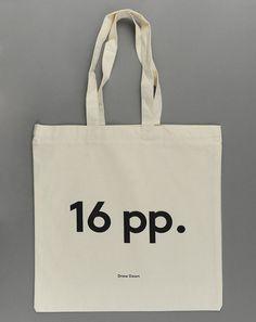 16 pp. Tote Bag