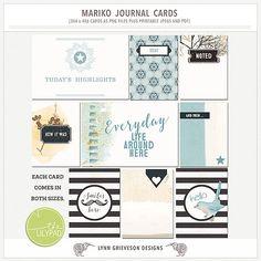 Mariko Journal Cards