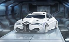 Stormtrooper themed Alfa Romeo Giulia