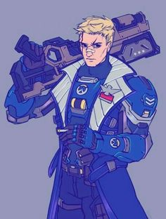 Overwatch Pharah, Overwatch Video Game, Solider 76, Jack Morrison, Overwatch Wallpapers, Monster Concept Art, Anime Version, Shadowrun, Games For Girls