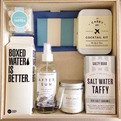 Nautical wedding welcome gift by Teak & Twine
