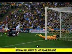 GERMANY VS FRANCE 1 O MATS HUMMELS HEADING GOALS WORLDCUP BRAZIL
