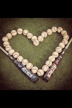 gonna do this with half softball and half baseballs with the kids' bats Baseball Crafts, Baseball Quotes, Baseball Pictures, Baseball Party, Baseball Season, Sports Baseball, Baseball Mom, Baseball Stuff, Senior Pictures