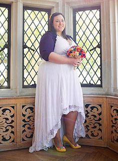Ever After Plus Size Wedding Gown, Igigi, up to US 30/32 »» Sweet Amaranth » Portraits for curvy and full-figured women Plus Size Wedding Gowns, Full Figured Women, Scalloped Edge, French Lace, How To Feel Beautiful, Ever After, Bridal Collection, Plus Size Outfits, Hemline