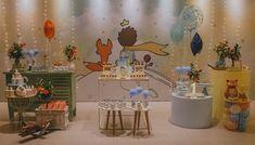 Festa O Pequeno Príncipe: 70 ideias e tutoriais para você se inspirar Little Prince Party, The Little Prince, Prince Birthday Party, Baby Birthday, Ideas Para Fiestas, Baby Party, New Years Eve Party, Birthday Decorations, First Birthdays