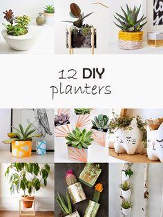 DIY Monday # Planters